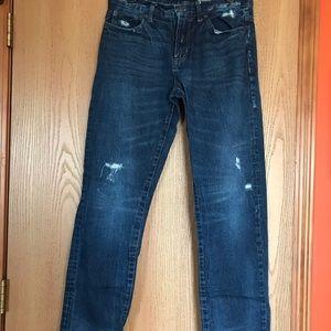 Aeropostale Distressed Straight Style Jeans 31/32